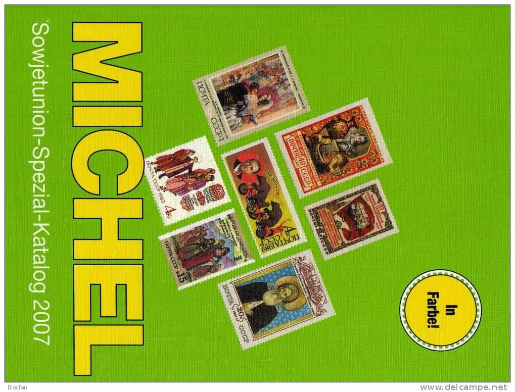 Sowjetunion Spezial Briefmarken Michel Katalog 2007 Neu 148€ Für Experten Für Ein Gesuchtes Motiv-Gebiet Of USSR CCCP SU - Kataloge
