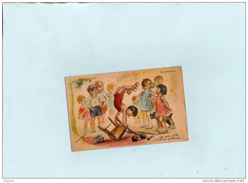 GERMAINE BOURET      LES FORAINS   ENFANT - Bouret, Germaine