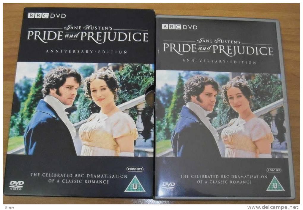 Pride & Prejudice - Anniversary Edition 2 DVD - Orgoglio E Pregiudizio - Originale - Lingua Inglese - Serie E Programmi TV