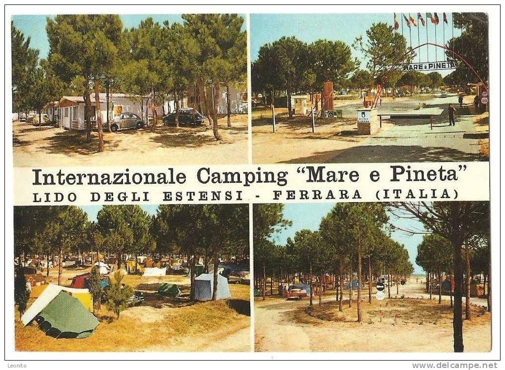Internazionale Camping Mare E Pineta Lido Degli Estensi Ferrara Italia 1963 - Ferrara