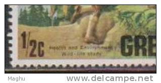 World Scout Jamboree, Scouting, Wildlife Study,  Health & Environment Protection Study, Animal, Fauna, Grenada 1975 MNH - Scouting