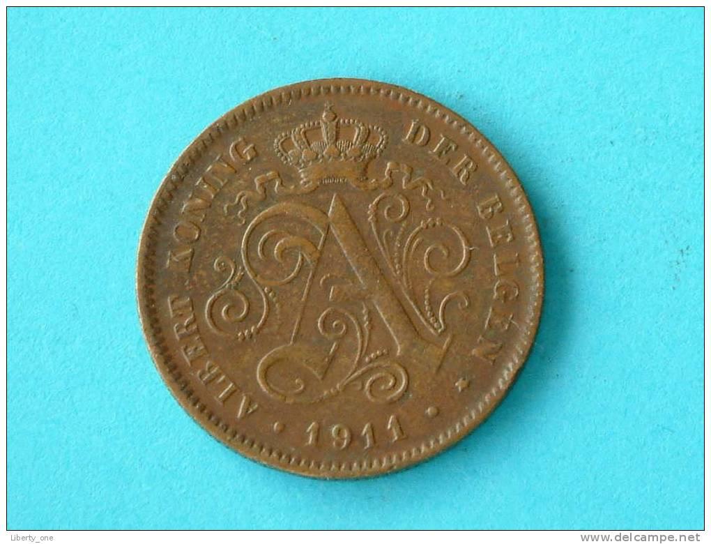 1911 VL - 2 CENT. / Morin 311 ( Photo For Details ) !! - 1909-1934: Albert I