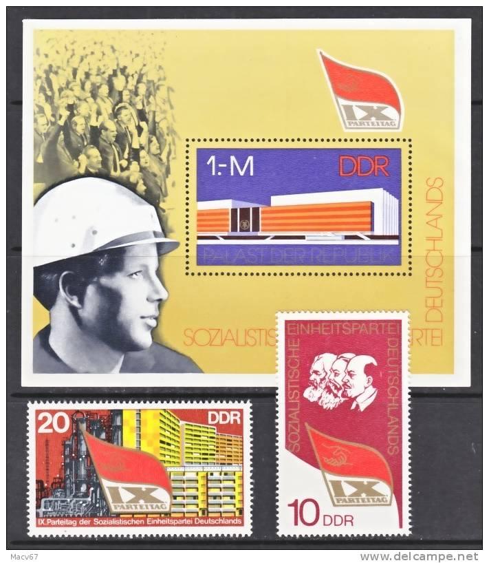 DDR  1719-21     **   S.E.D. - [6] Democratic Republic