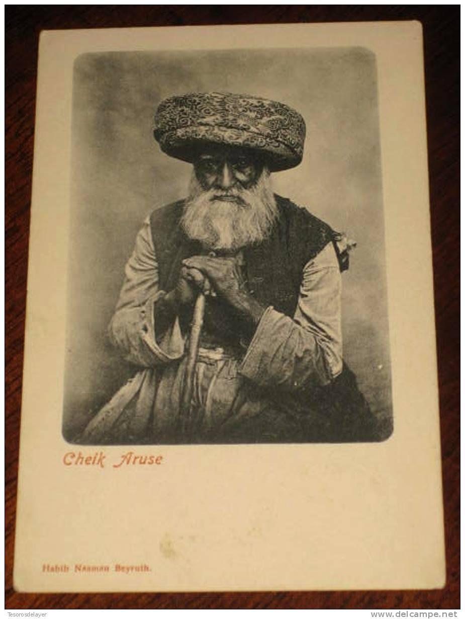 OLD POSCARD CHEIK ARUSE - LIBAN - LEBANON - HABIB NAAMAN BEYRUTH - NOT MOVING. - Líbano