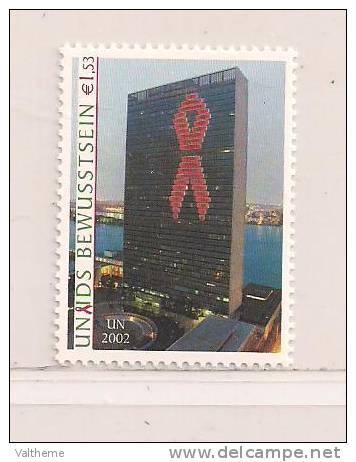 N. U.  VIENNE    (D11DV - 6438  )  2002  N° YVERT ET TELLIER  N°  392   N** - Wien - Internationales Zentrum