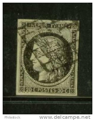 FRANCE N° 3 Obl. - 1849-1850 Ceres