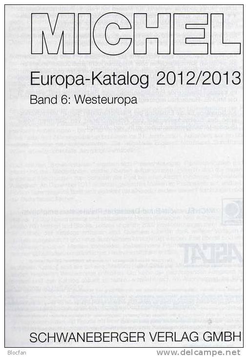 MlCHEL Mittel-/West-Europa 2012/2013 Katalog Neu 116€ Band 1+6 : A CH CSR HU FL Slowakei UNO B NL Lux Man Jersey UK EIRE - Numismatik