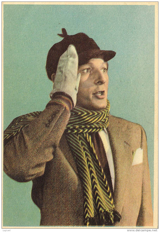 "DANNY KAYE NEW YORK INSERTO ""INTREPIDO"" 1956 - Merchandising"