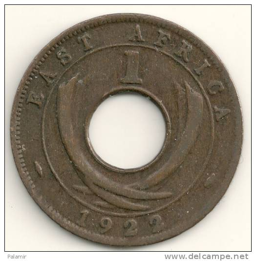 East Africa  1 Cent  KM#22  1922 H - British Colony
