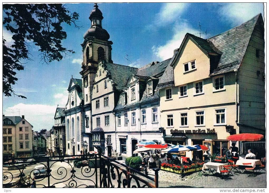 Hachenburg  Im Westerwald  Alter Markt - Hachenburg