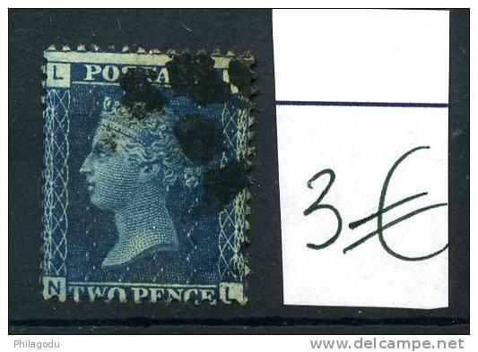 Victoria  2pence   Ø  L-N   N-L - Used Stamps