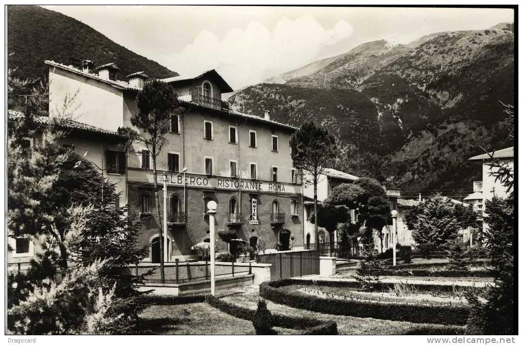 VISSO HOTEL RISTORANTE  ROMA  MACERATA MARCHE NON VIAGGIATA PERFETTA - Alberghi & Ristoranti