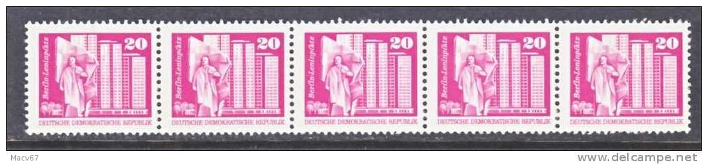 DDR  1612 X 5    **   COILS - [6] Democratic Republic