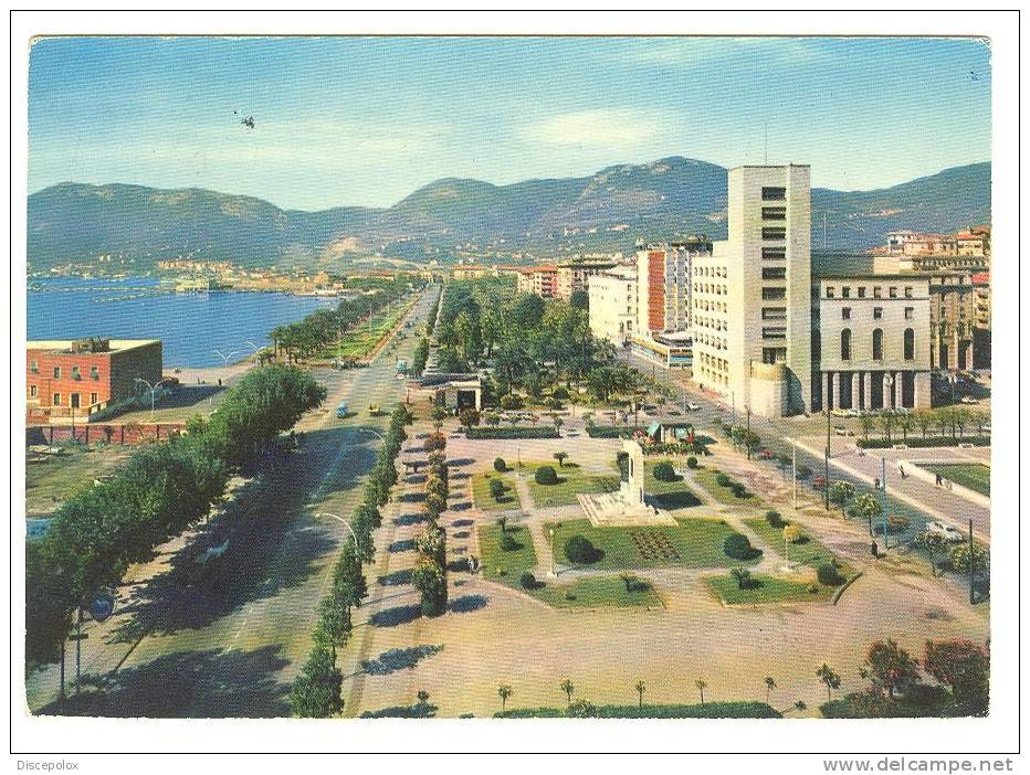 Z4 La Spezia - Viale Italia / Viaggiata 1963 - La Spezia