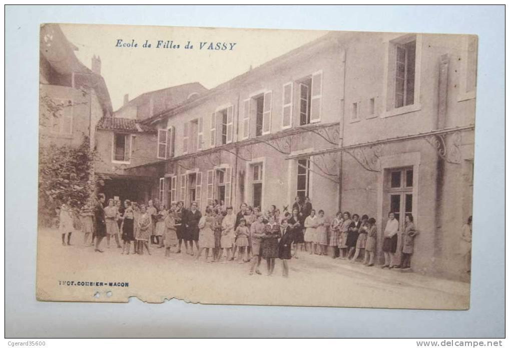 52 :  Ecole De Filles De Vassy - Wassy