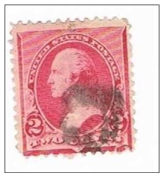 Sc. ? Washington 2c. Used - 1847-99 Emissioni Generali