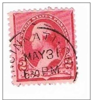 Sc. ? Washington 2c. Used - Used Stamps