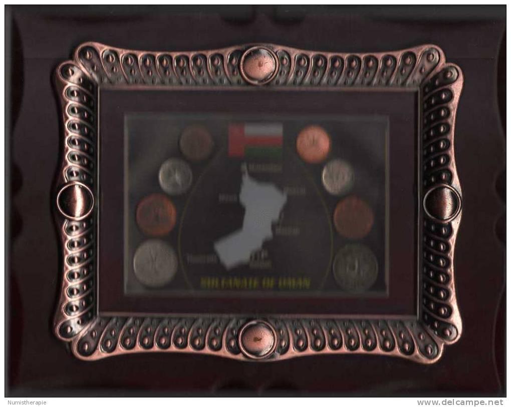 Sultanat D´ Oman : Encadrées : 5, 10, 25, 50 Baisa 1999-2008 Pile-Face - Oman