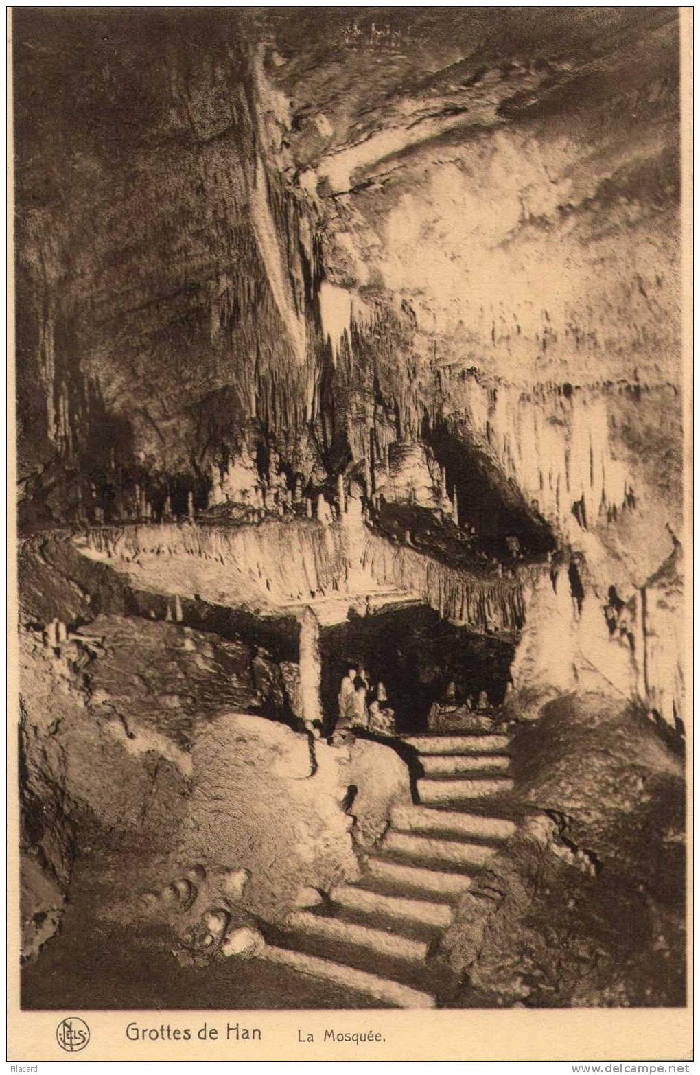 14517   Belgio,   Grottes  De  Han,  La  Mosquee,  NV - Rochefort