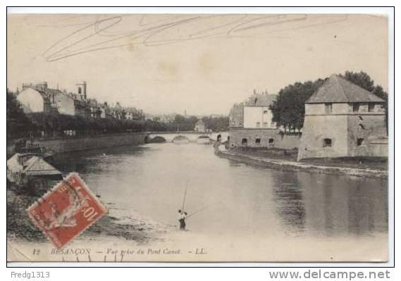Besancon - Vue Prise Du Pont Carnot - Besancon