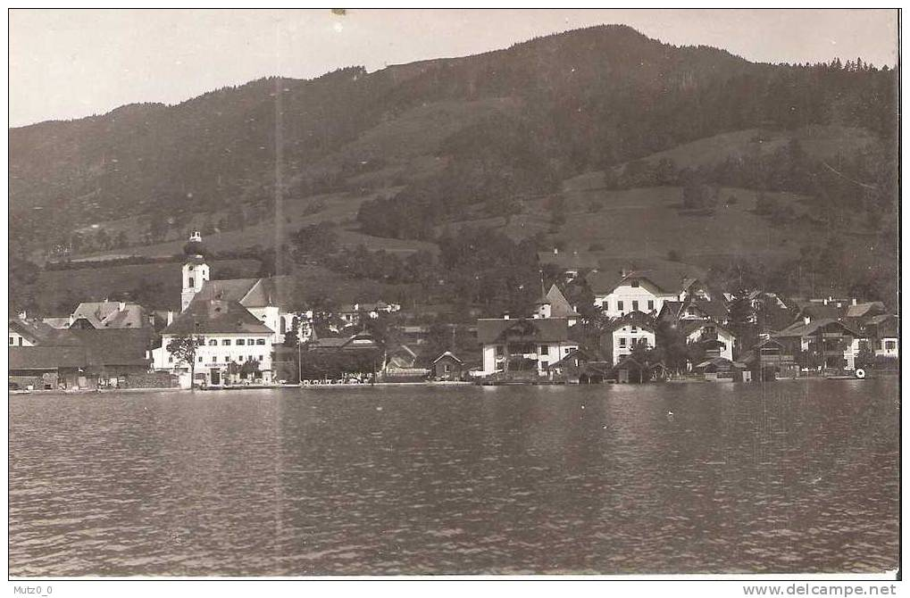 AK 151  Unterach Am Attersee - Tolles Motiv Um 1930 - Autriche
