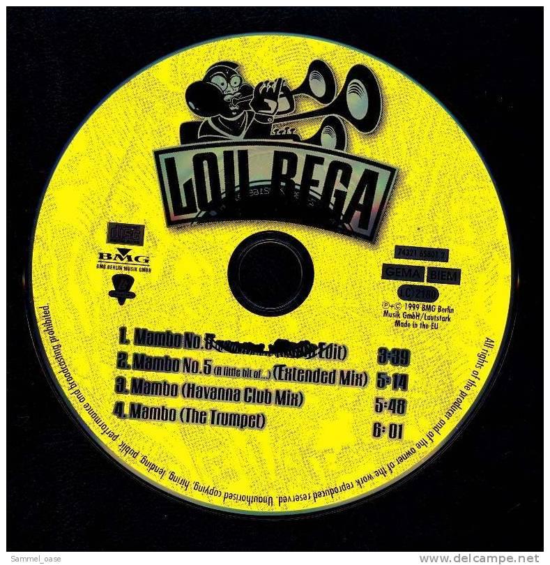 Musik Maxi CD  -  Lou Bega - Mambo No 5  ( A Little Bit Of  )  -  Neuwertig - Musik & Instrumente