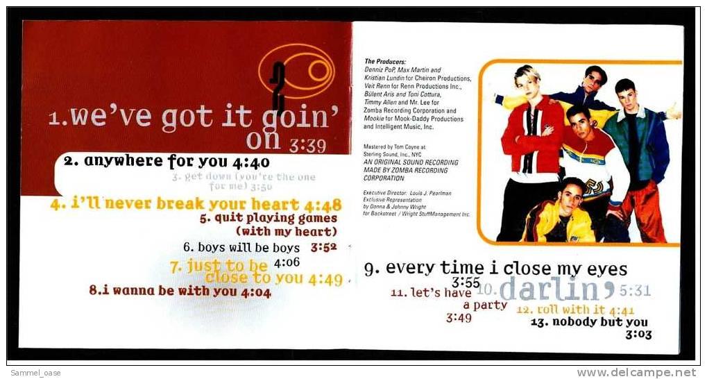 Musik CD Music Album -  Backstreet Boys  -  1996 - Disco, Pop