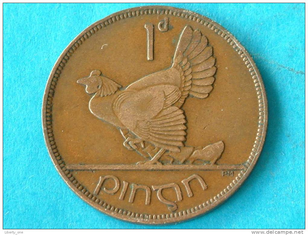 1931 - 1 PENNY / KM 3 ( For Grade, Please See Photo ) ! - Irlande