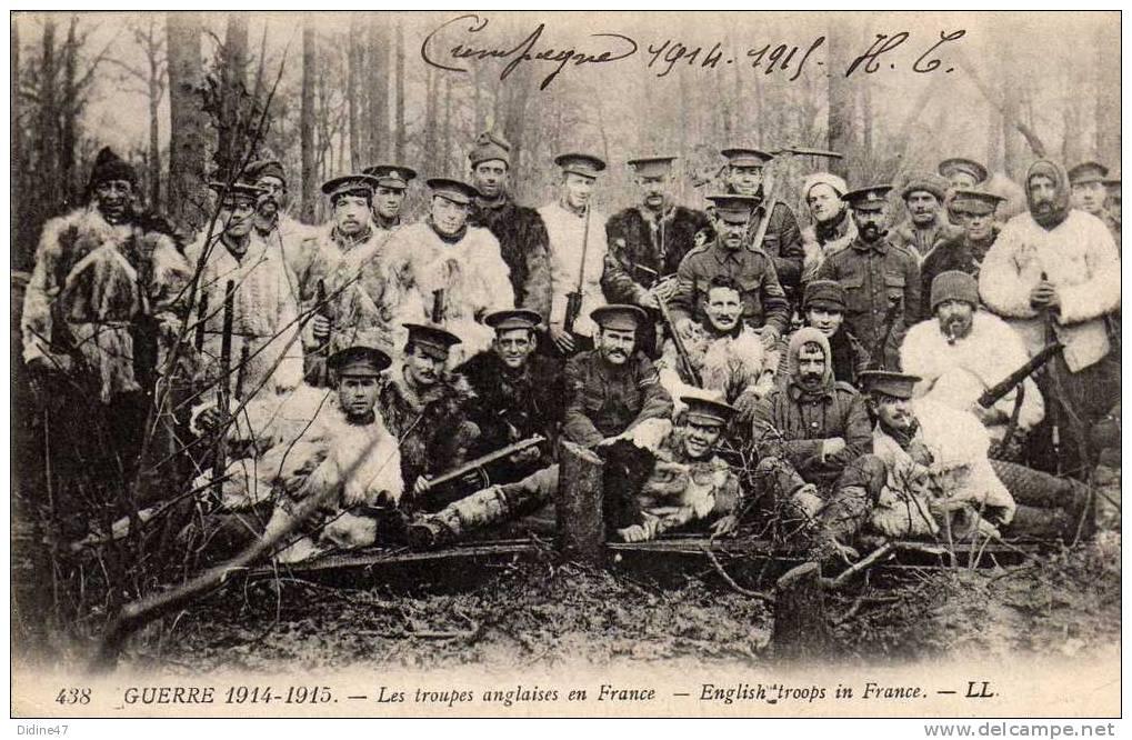 GUERRE 1914-1915 - Les Troupes Anglaises En France - War 1914-18