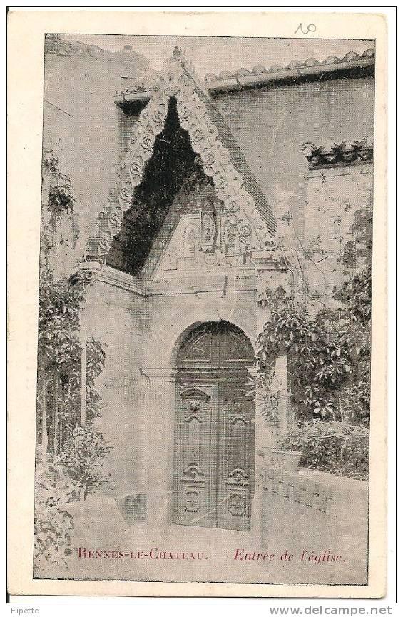 L700.2798 - 11 - Rennes Le Château -  Entrée De L'Eglise - France