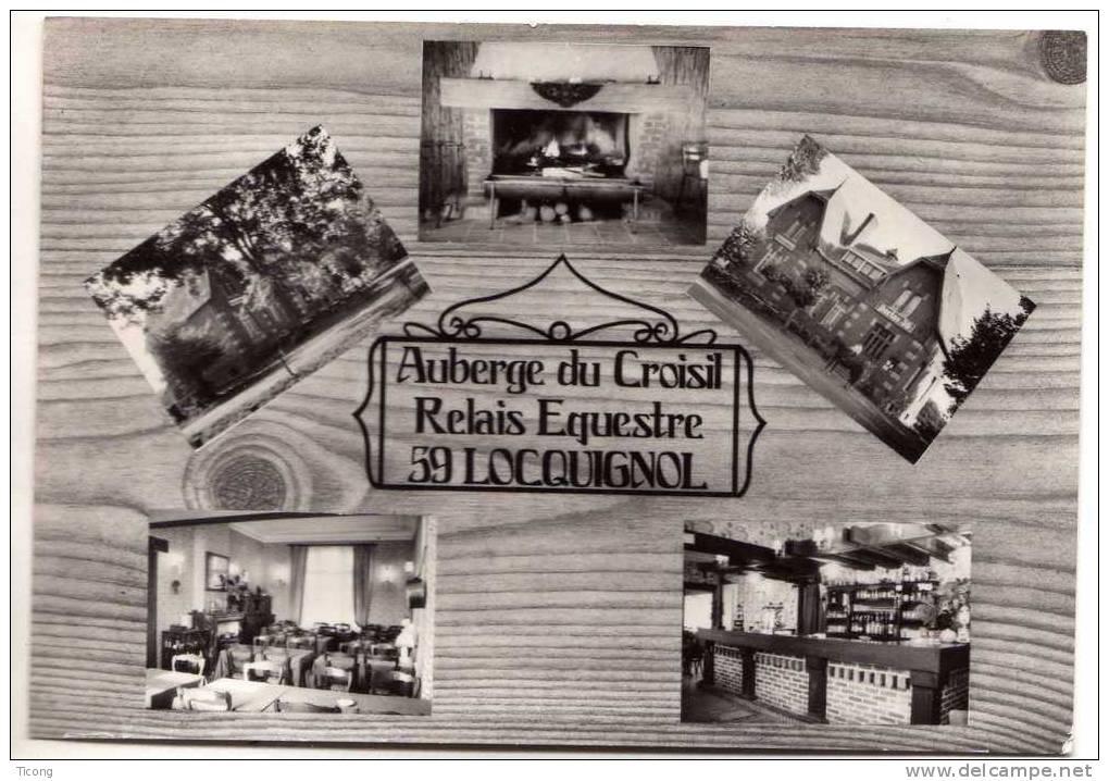 LOCQUIGNOL 59 NORD - AUBERGE DU CROISIL RELAIS EQUESTRE - PHOTO J CONDO BAVAY - France