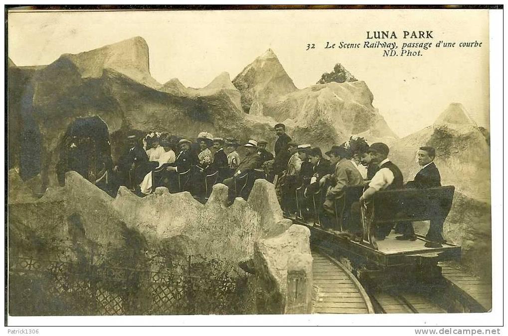 CPA  LUNA PARK PARIS, Le Scenic Railway  3275 - Non Classificati