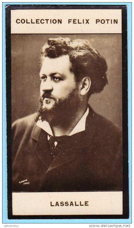 Collection Felix Potin - 1898 - REAL PHOTO - Lassalle, Artiste Lyrique - Félix Potin