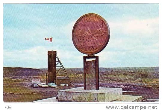 Piece De Monnaie - The Big Penny  - Sudbury Ontario (21459) - Monnaies (représentations)