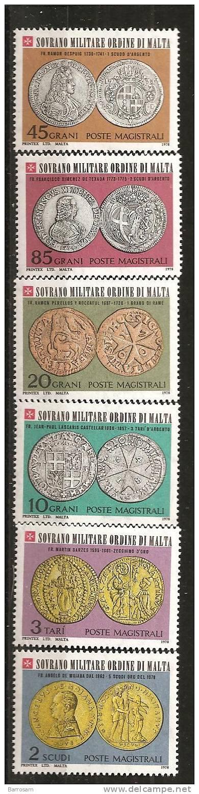 Malta1978: SMOM149-54 Mnh** - Malte (Ordre De)