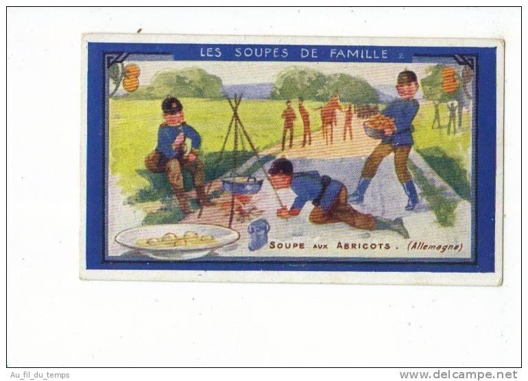 CHROMO AU PLANTEUR DE CAIFFA , LA SOUPE AUX ABRICOTS - Old Paper