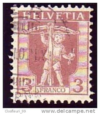 Fils De Tell N° 102 / Mi. 96 / Y. & T. 114 Avec Oblitération Légère. Bel état - Suiza