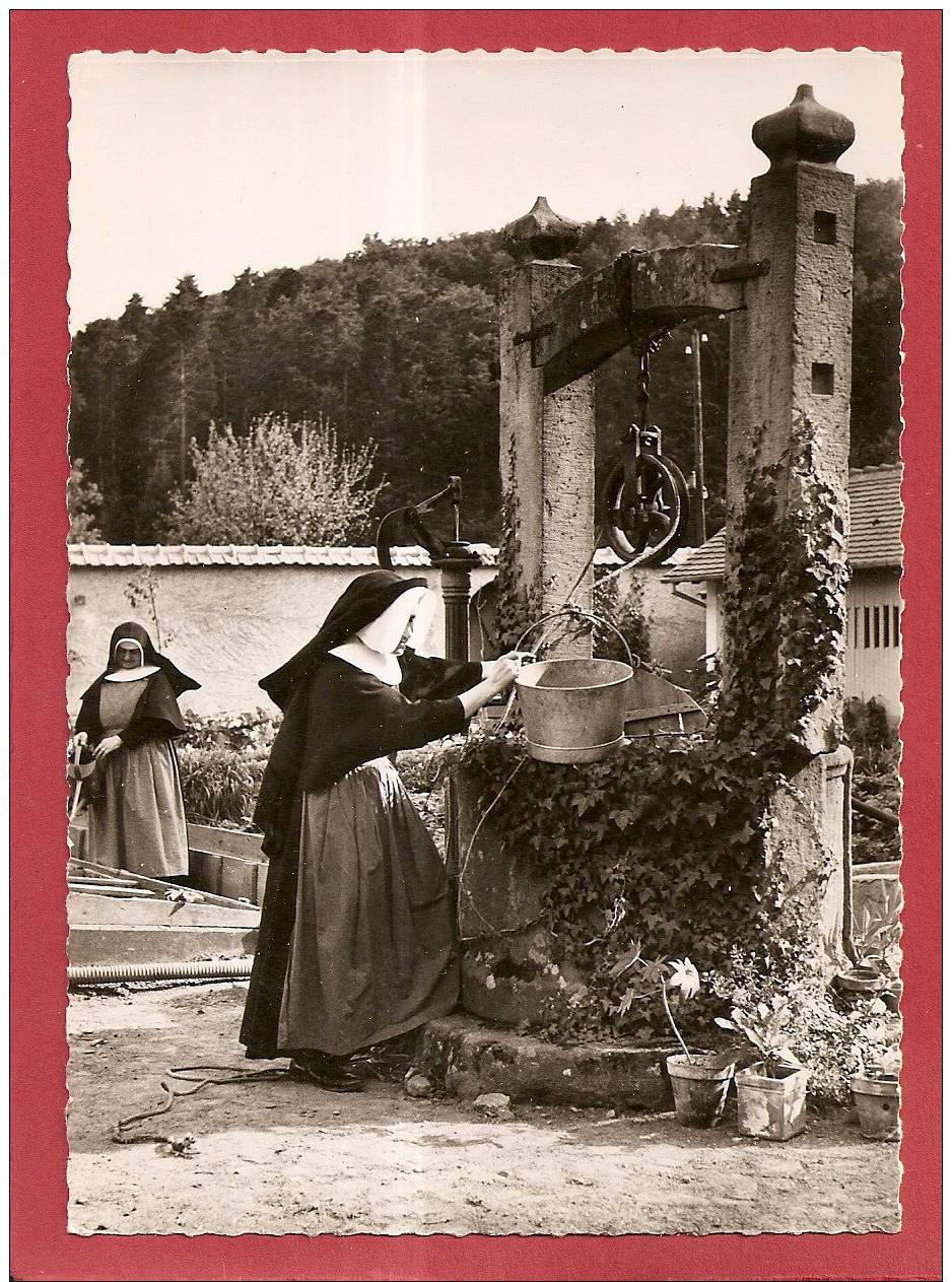 68  GUEBERSCHWIHR - SOEURS DE SAINT JOSEPH DE SAINT MARC - Le Vieux Puits Dans Le Jardin Du Couvent Saint Marc - France