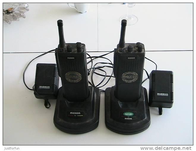 WALKIE TALKIE MAXON MIL STD 810 C,D,E - Radio
