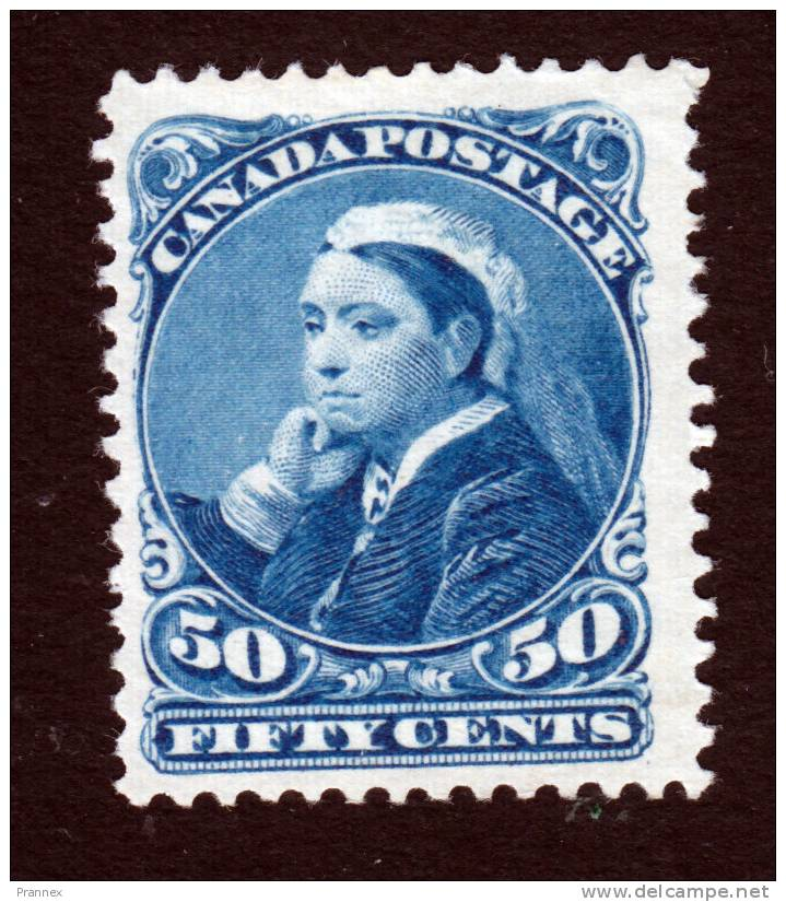 Canada, Scott #47, MInt No Gum, Queen Victoria, Issued 1893 - Unused Stamps