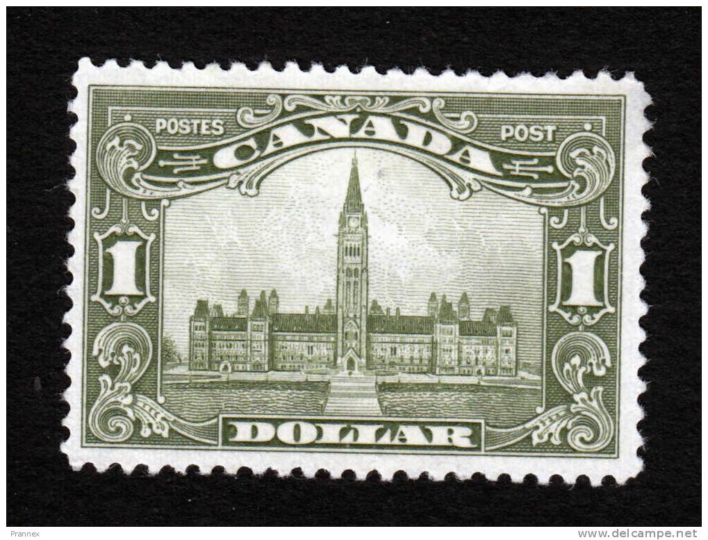 Canada, Scott #159, MInt Hinged, Parliament Building, Issued 1929 - 1911-1935 Reign Of George V