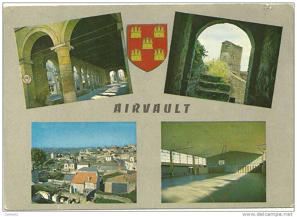 79 AIRVAULT VUES MULTIPLES DEUX SEVRES - Airvault