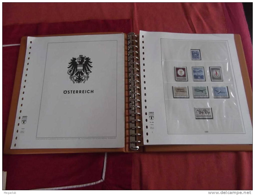 COLLECTION AUTRICHE 1967 A 1980 COMPLET ET NEUF ** DANS LINDNER T + ALBUM - Verzamelingen