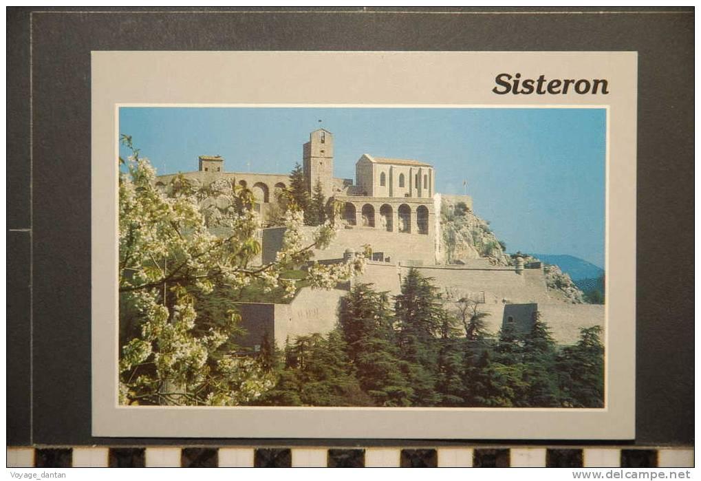 SISTERON  LA CITADELLE - Sisteron
