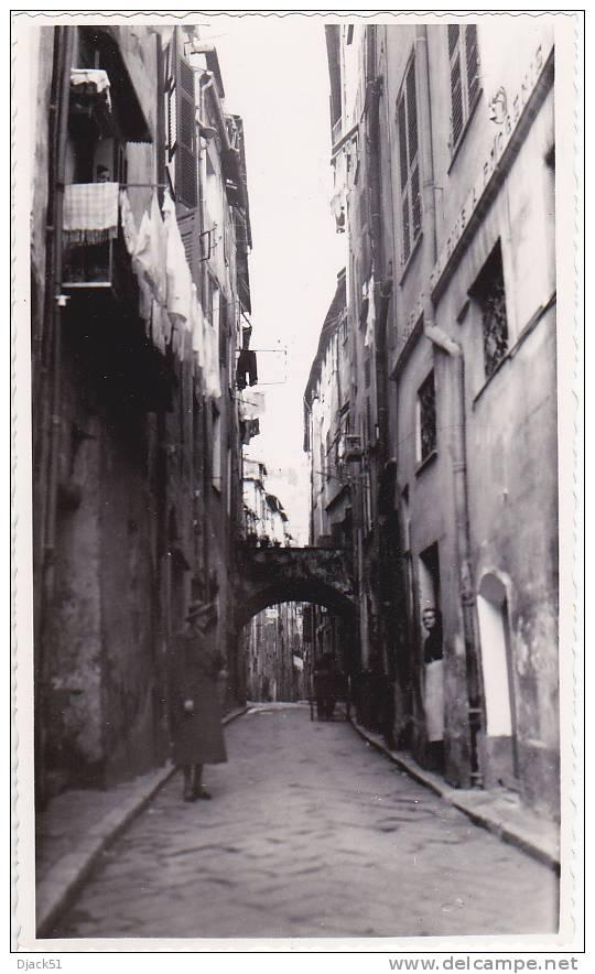 Vieux Menton - Rue Longue - 4 Mai 1938 - Lieux