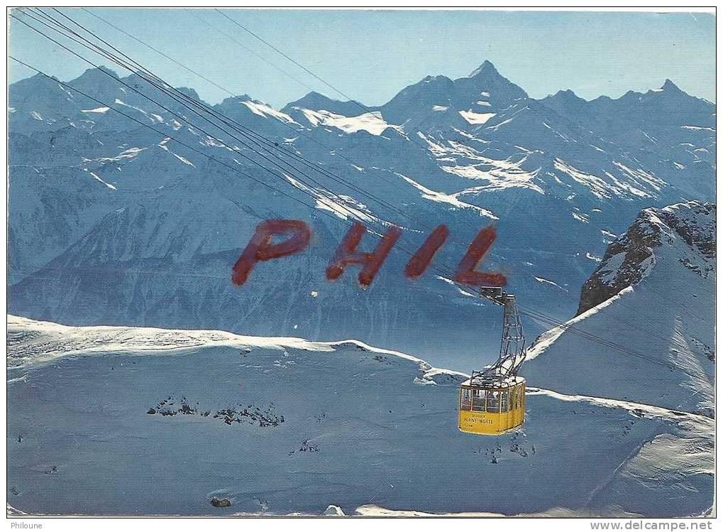 Crans Montana - Téléphérique Du Glacier De La Plaine Morte, Ref 1104-267 - VS Valais