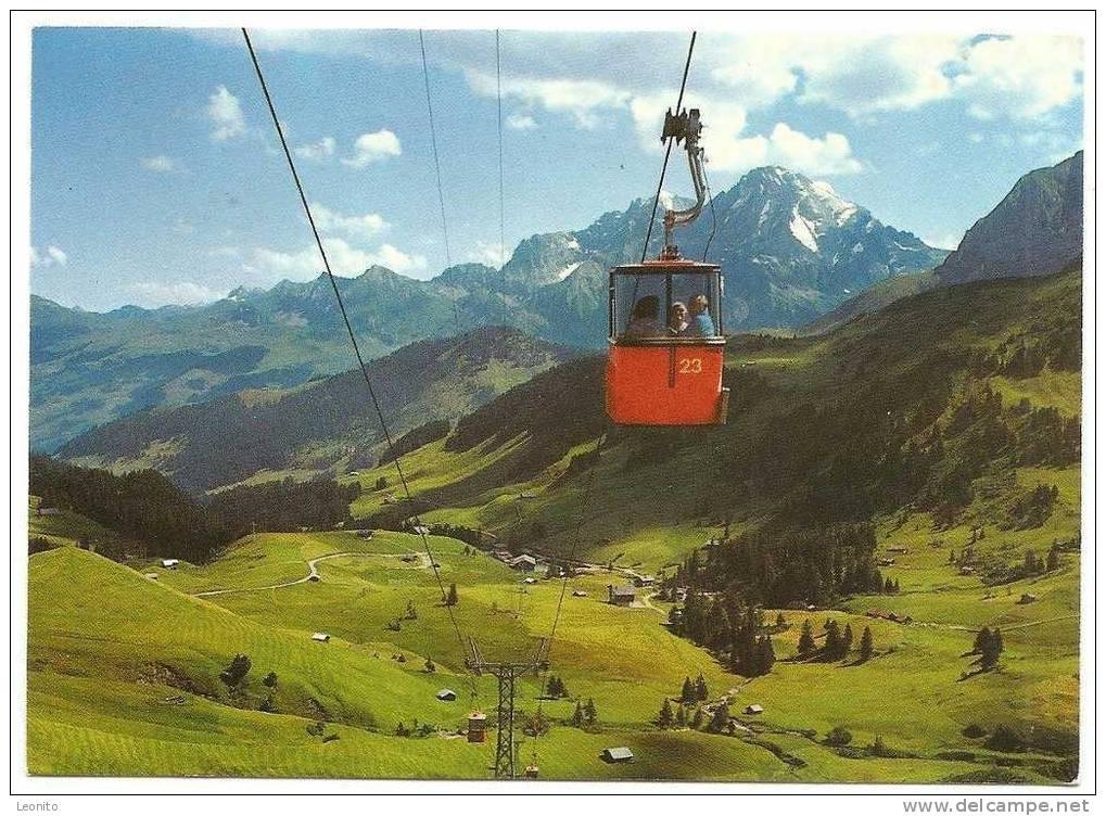 Gondelbahn Geils Hahnenmoos Adelboden 1983 - BE Berne