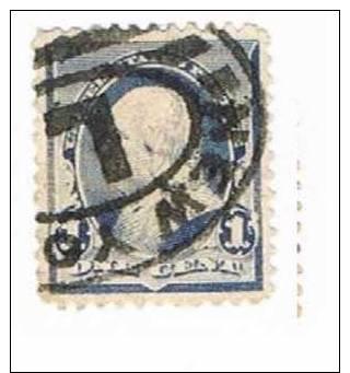 Sc. 219 Franklin 1c. Used - 1847-99 Emissioni Generali