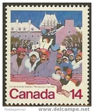 CANADA 1979 MNH Stamp(s) Carnival Quebec 716 #5698 - 1952-.... Reign Of Elizabeth II