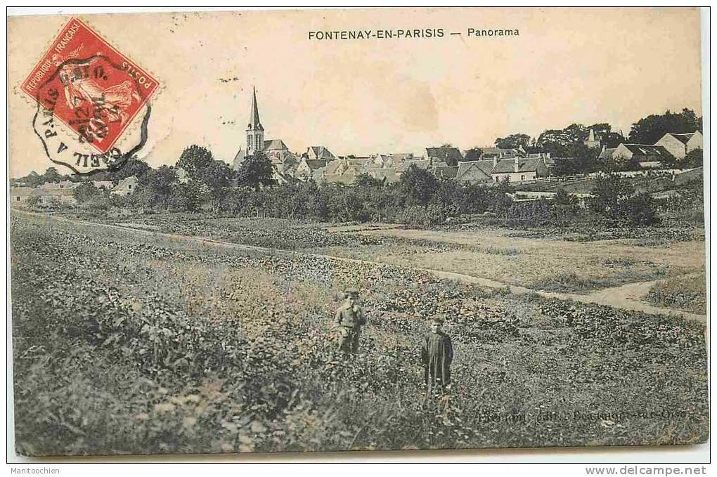 DEP 95 FONTENAY EN PARISIS PANORAMA - France